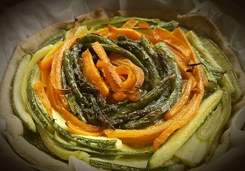 Crostata di verdure primaverili