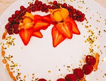 Vegancake al limone e fragola (ricetta senza glutine)