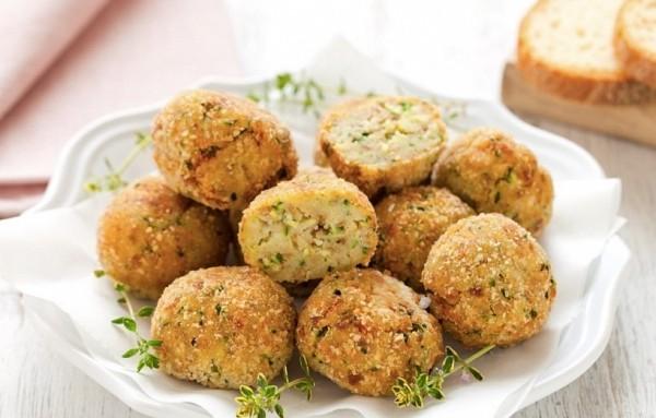 Foto - Bread, Seitan and Zucchini Meatballs