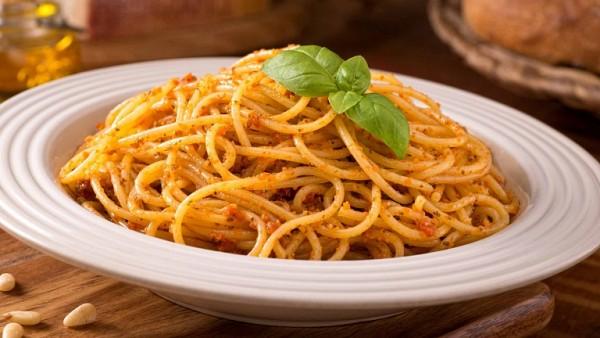 Foto - Spaghetti with pesto